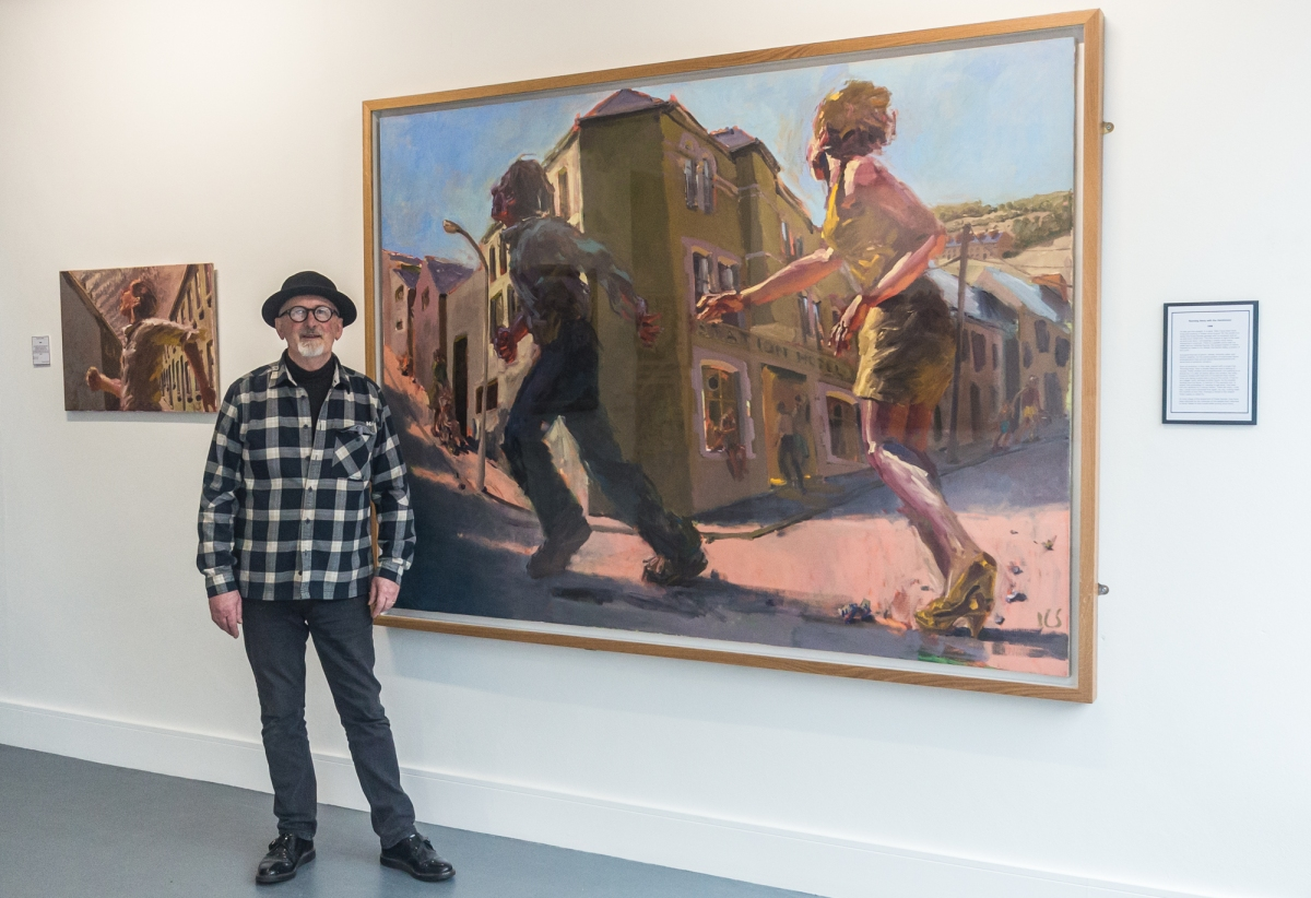 """Kevin Sinnott"" .. Reflecting on a life in painting exhibition"