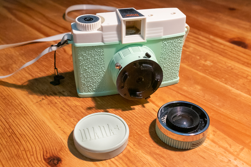 Diana F Pinhole shooting on Lomo Color Negative 400…