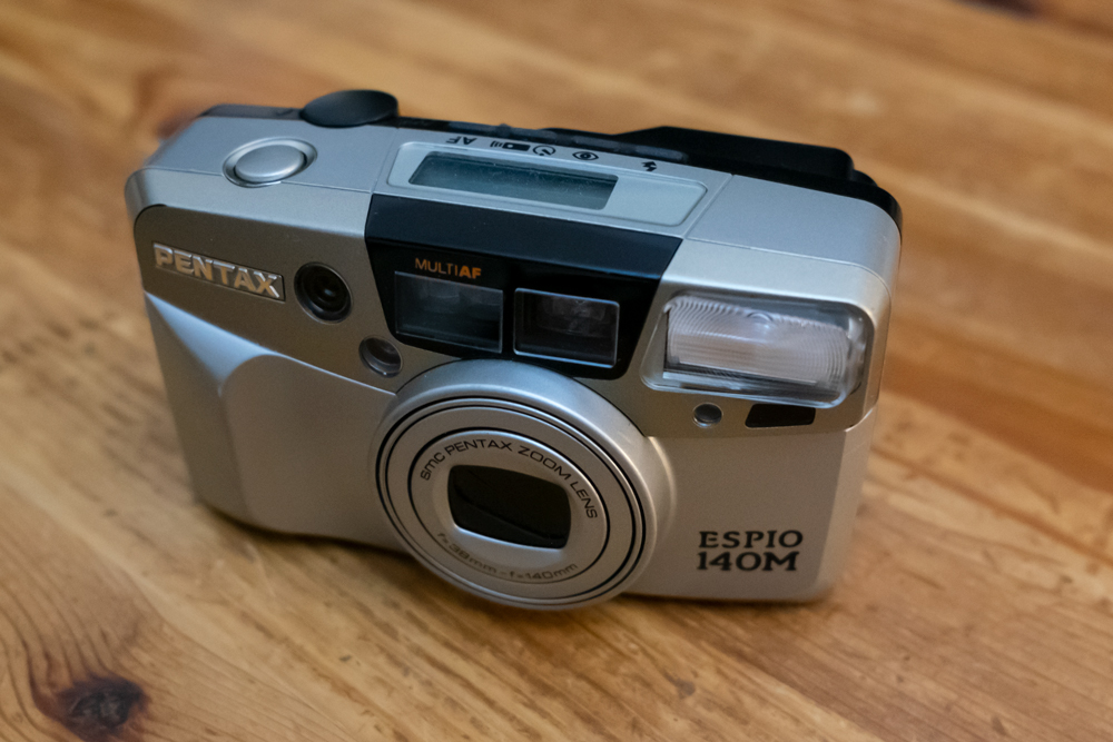 Bargain compact point & shoot of the year … Pentax Espio 140M & ilford XP2